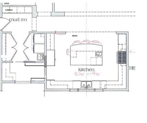 u shaped kitchen with island floor plan u shaped kitchen floor plans with island http acctchem