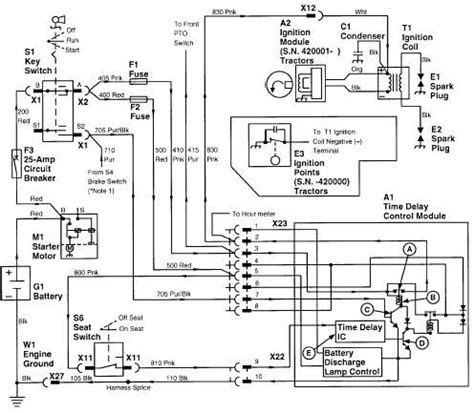 deere ignition switch wiring diagram free
