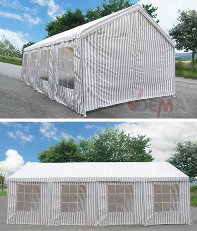 Pavillon 8 M by Pavillon Toile G 233 Ant 4 X 8 M Plein Air Cing