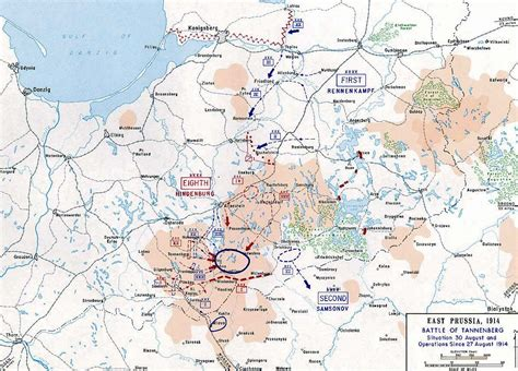 508765 the last day of wwi map of the battle of tannenberg last day 1914 1914