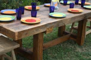 rustic dining table seats