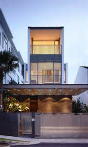Multi Level Floor Plans Slim Singapore House By Hyla Architects Thecoolist The