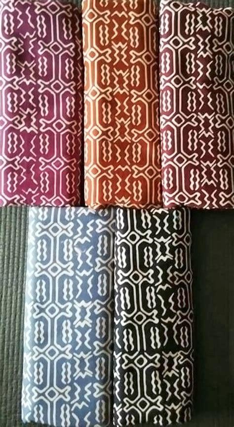 Tas 3 In 1 Tribal Rusa Baru jual kain batik halus cap garutan jawa barat motif tribal