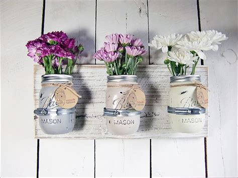 Wall Mounted Flower Vases 20 Diy Flower Vase Projects Flowers Inspirations