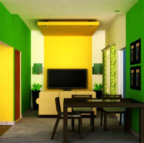 perpaduan cat  baik  dinding rumah nayaka property
