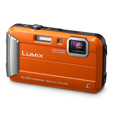 panasonic lumix dmc ft30 compact oranje