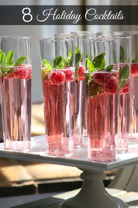 cocktails ideas 8 cocktails holidays bright bold and beautiful