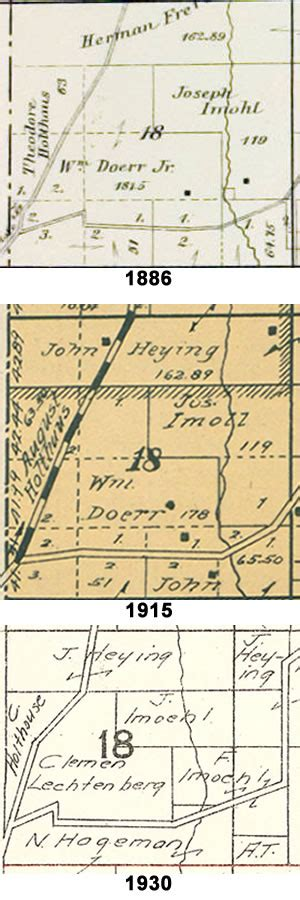 How To Find Property Survey Records Learn History Of Your Ancestors From Township Plat Maps