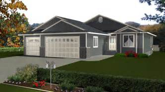 Attached Garage Designs House Plans With 3 Car Attached Garage By E Designs