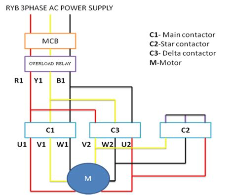 delta wiring diagram electrical