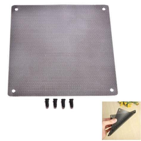 pc fan dust filter aliexpress com buy 1pc 14cm x 14cm cuttable computer