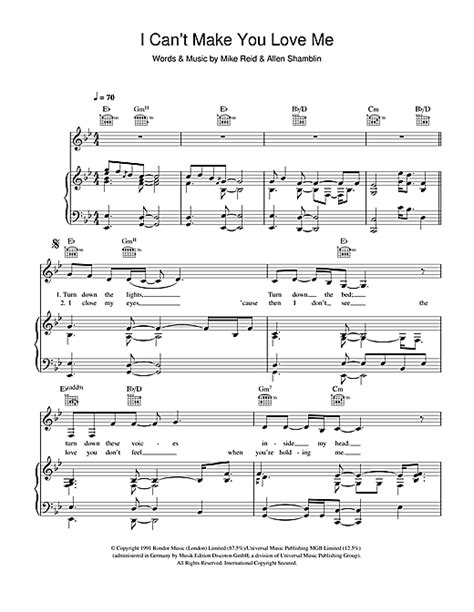 can t make you love me chords adele i can t make you love me sheet music by adele piano