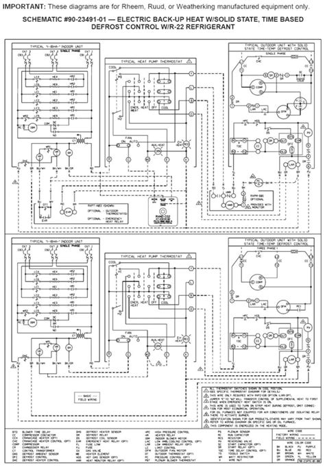 wiring diagram for rheem heat wiring diagram