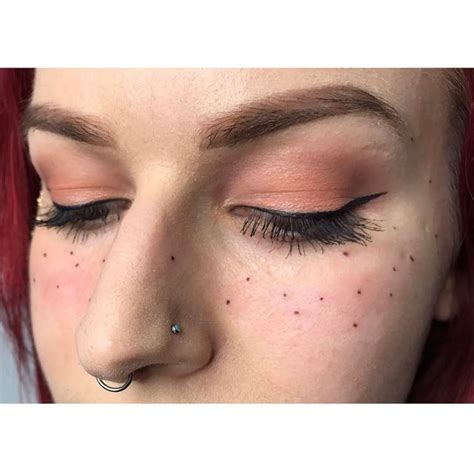 tattoo freckles los angeles tattooed freckles tattoo collections