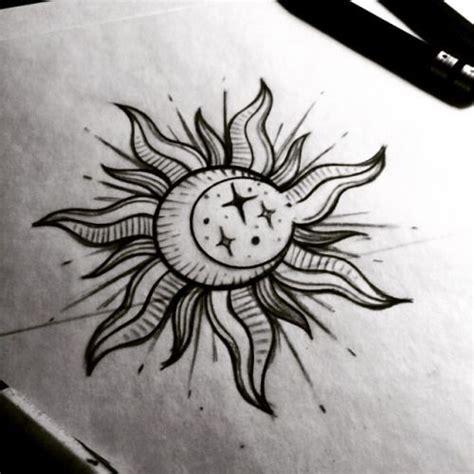 sun moon stars tattoo designs make a godsmack sun look cool tattoos