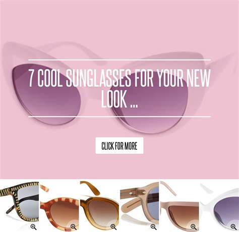 Tods Boomerang Pochette by 7 Cool Sunglasses For Your New Look Fashion