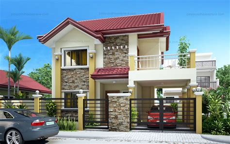 pinoy house plans rachel lovely four bedroom two storey pinoy house plans