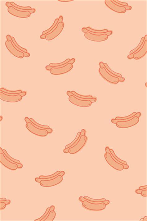 hotdog pattern cute poolga themeekshall hot dog