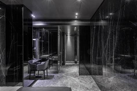 black interior house project black serenity 9 daring monochromatic interior scheme home in black serenity in taipei
