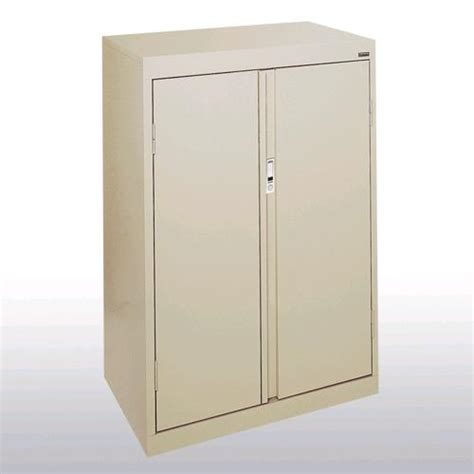 sandusky counter height system series storage cabinet