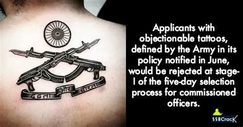 army tattoo regulation the army the army policy