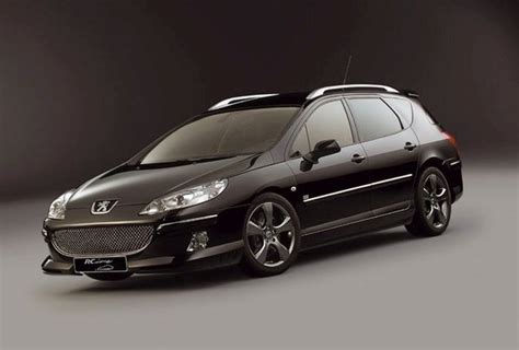 peugeot 407 wagon peugeot 407sw by irmscher news top speed
