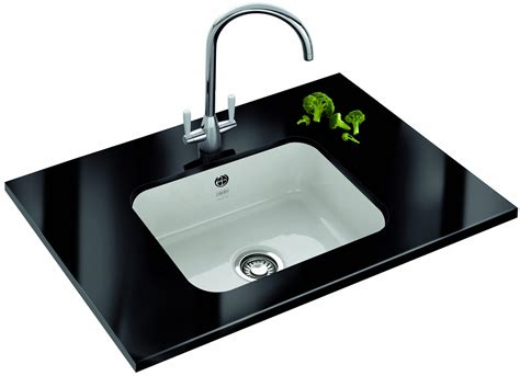 undermount porcelain kitchen sink franke v and b vbk 110 50 ceramic 1 0 bowl undermount