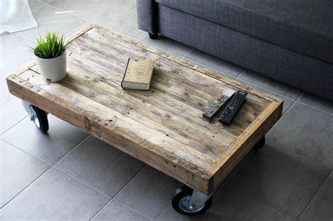 Table Salon Palette by Table Basse Beeshmar En Bois De Palette Recycl 233 Deco