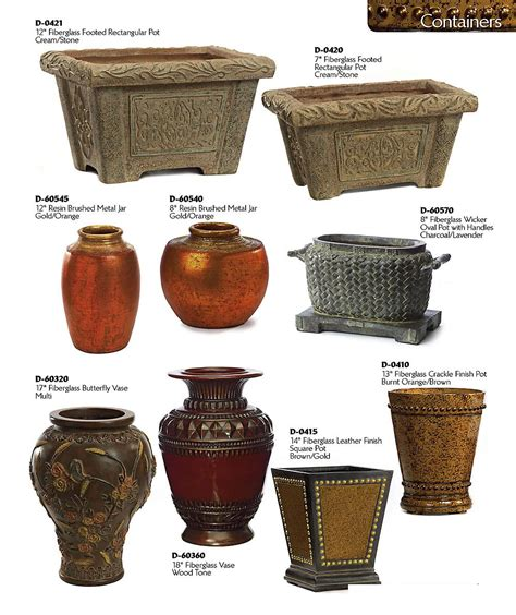 Urns And Planters by Decorative Planters And Urns