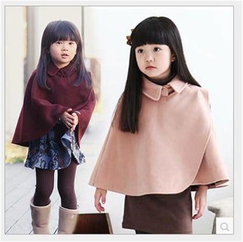 Ponco 2 In 1 Big Top Primadona Scothlght big autumn winter poncho coats outwear baby color turn collar shawl cape