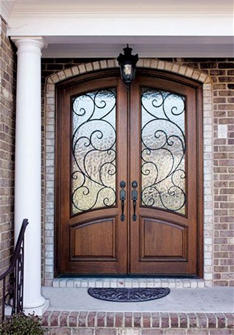 glass inlay front doors aberdeen collection dsa master crafted doors deco