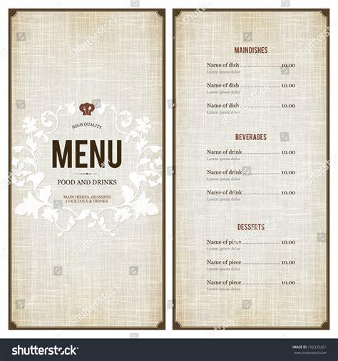 design menu in html chinese restaurant menu design
