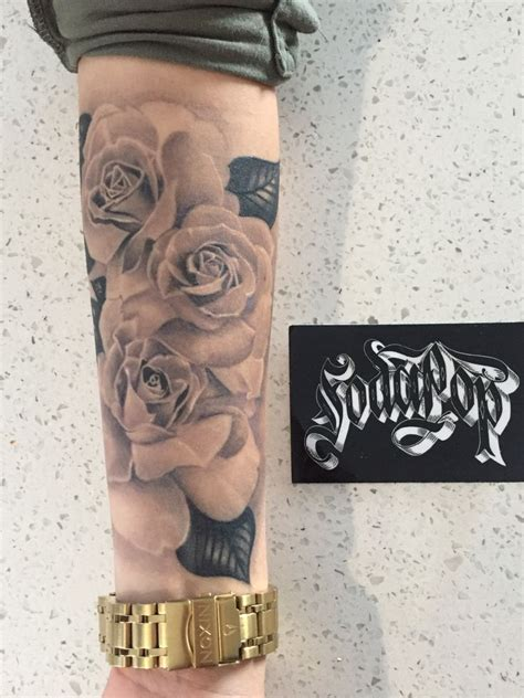 rose tattoos for woman best 25 forearm ideas on forearm