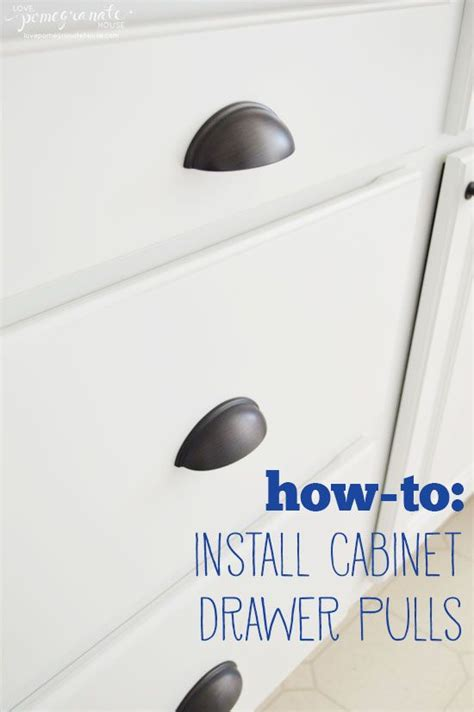 how to install handles on kitchen cabinets 1000 ideas about dresser drawer pulls on pinterest