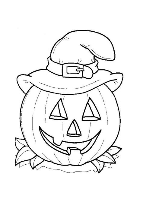 free coloring pages of kids halloween printable