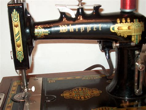whippet sewing machine