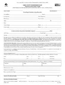 Scout Permission Slip Template by Scouts F204 Form Fill Printable Fillable
