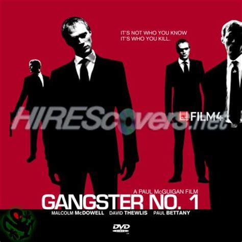 film gangster no 1 dvd cover custom dvd covers bluray label movie art dvd