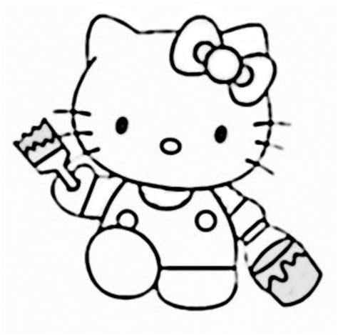 mewarna gambar hello kitty coloring pages mewarna gambar gambar hello kitty clipart best