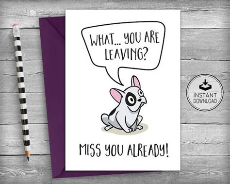 free going away card templates farewell cards new cards goodbye cards going