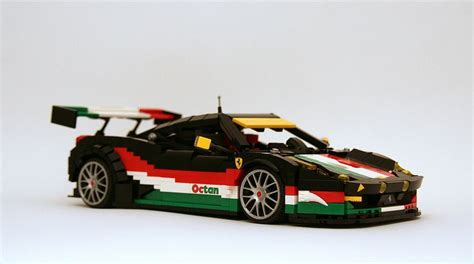 brix ferraris 458 gt3 quot tribute to italy quot 458 lego and