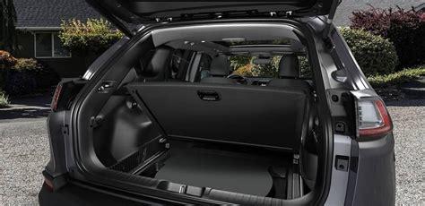 jeep cherokee interior dimensions features suvs