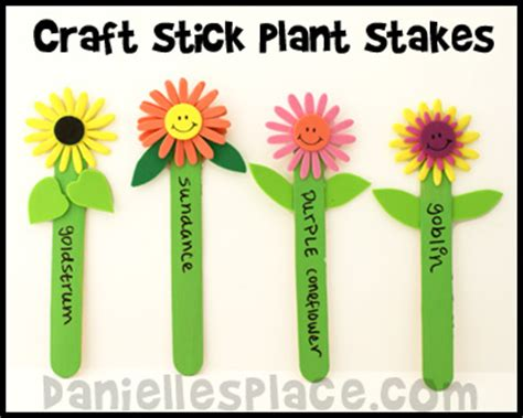 plant crafts for crafts and activities for
