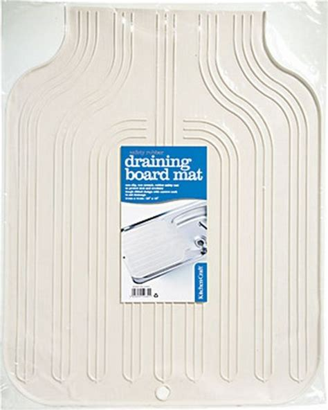 Kitchen Mats Tesco Buy Kitchen Craft Rubber Draining Board Mat From Our