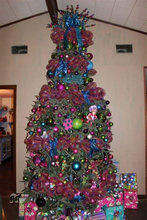 Whimsical Decor Whimsical Candy Color Multi Christmas Decorating Ideas