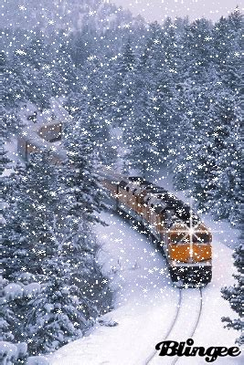 train in the snow animated love pinterest beautiful