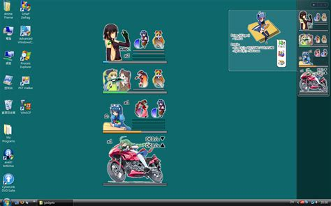 Anime Theme Windows Gadget Gallery | anime theme windows gadget gallery