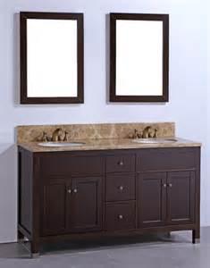 60 Inch Vanity With Trough Sink 60 Inch Sink Bathroom Vanity With Brown Marble Top