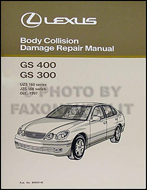 free auto repair manuals 2008 lexus gs on board diagnostic system lexus gs 300 430 body shop manual 2005 2004 2003 2002 2001 gs430 gs300 collision