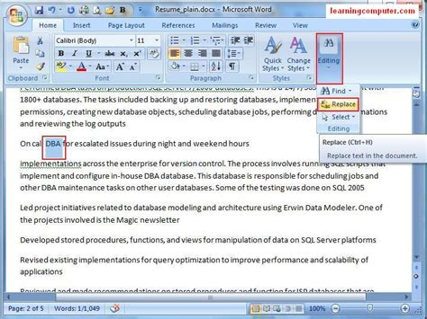 gt microsoft word 2007 home tab softknowledge s